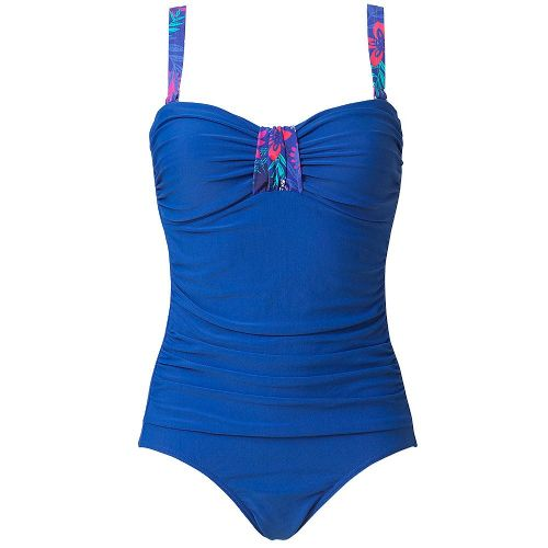 Beachcomber Bright Blue Figure Shaping Swimsuit